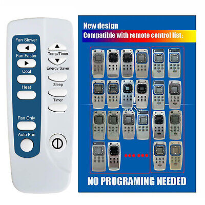 Remote Control For Frigidaire FRS093LS1 FRS123LS1 FRS093LW11 A//C Air Conditioner
