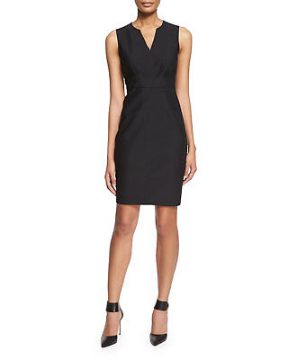 12c5bfe34bd Elie Tahari Vernon Sleeveless Sheath Dress in Black