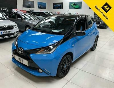 2016 16 Toyota Aygo 1.0 Vvt-I X-Cite 2 69Bhp, 5Dr 5Sp Eco Hatch,5-000M,Sh,Blue