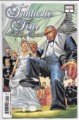 Marvel Comics FANTASTIC FOUR WEDDING SPECIAL #1 first printing cover A