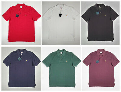 Men Brooks Brothers 1818 Performance Polo Shirt Original Fit - S M L Xl Xxl