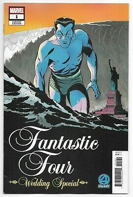 Marvel Comics FANTASTIC FOUR WEDDING SPECIAL #1 first printing villains cover