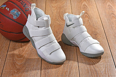 buy popular 02a36 a8c5b Nike Lebron Soldier XI SFG 897646-005 Light Bone-Stucco Men s Basketball  Shoes