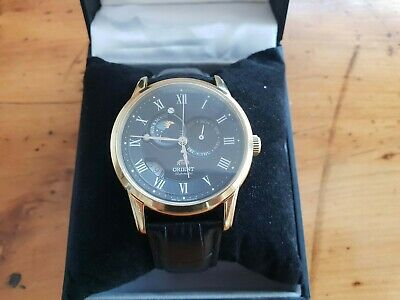 Orient Sun And Moon V2 65th Anniversary Limited Edition Gold Tone Watch