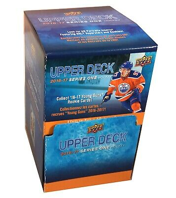 2016-17 Upper Deck Series 1 hockey cards Gravity Feed Retail Box with 36 Packs