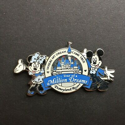 DLR - The Year of a Million Dreams - Mickey and Minnie Mouse Disney Pin 50026