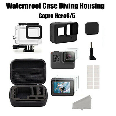 Silicone covers Camera Accessories Set Practical for Gopro Hero 6/5 Black Shell