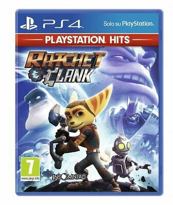Games - Ps4 - Ratchet & Clank  (playstation hits +7)