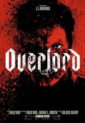 Overlord (iTunes 4K) Digital Only! NO VUDU REDEMPTION INCLUDED