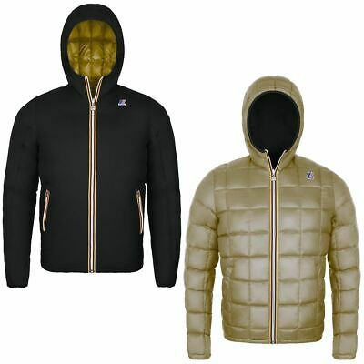 K-Way Jacques Thermo Plus Double Uomo Kway 2018 Black Beige K K001K40 A04 360 €