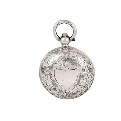 Antique Victorian Sterling Silver Sovereign Case - 1900