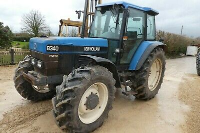 NEW HOLLAND 8340 Sle Tractor 1996 Done 8346 Hours 50 % Tyres Gear Box  Problem
