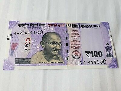 INDIA 100 Rupees 2018 P NEW Letter R UNC Banknote