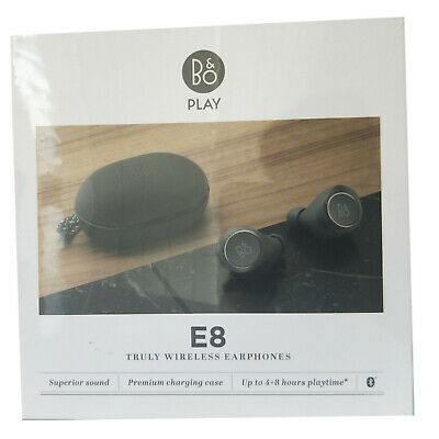 B&O Beoplay E8 Bang Olufsen Truly Wireless In Ear Earphones Charcoal Sand PS