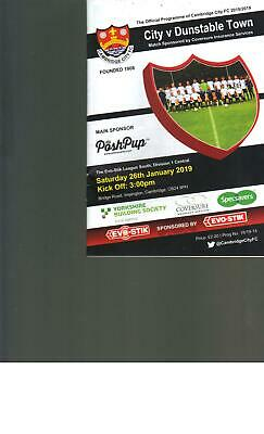 PROGRAMME - LIVERPOOL v AFC BOURNEMOUTH - 9TH FEBRUARY 2019