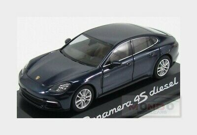 Cars Herpa Wap0207230g Panamera Diesel 4s 1:43 Dark Blue New Original Packaging For Fast Shipping Model Building