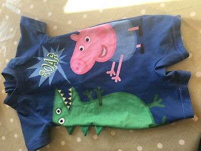Next Peppa Pig Swim Suit 12-18 Month