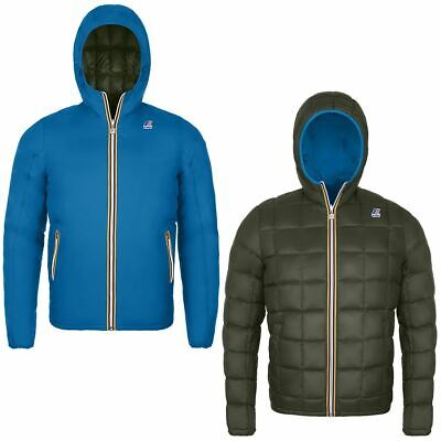 K-Way Jacques Thermo Plus Double Uomo Kway 2018 Blue F Green A K001K40 996 360 €
