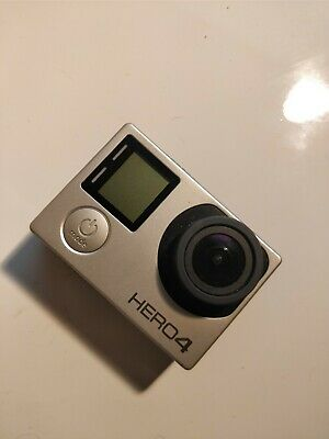 GoPro HERO4 Action Camera (Standart Edition) - Silver - Great Condition
