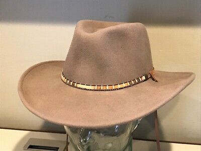 Bailey Tombstone 2X Felt Gus Crown Felt Cowboy Hat.