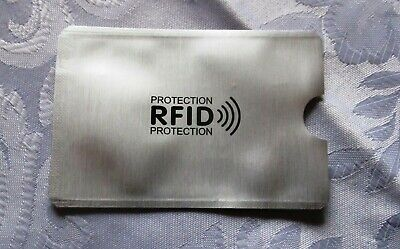 RFID Blocking Credit Card Data Theft Protection Sleeve -  Pack of 3