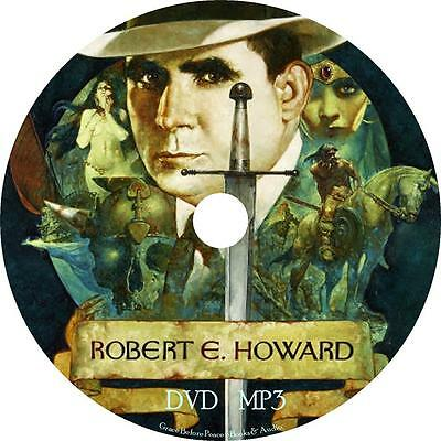 Robert E. Howard Audio Book Collection Unabridged on 1 MP3 DVD FREE SHIPPING