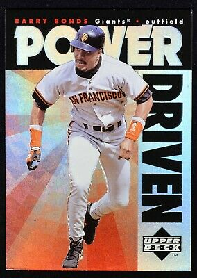 1996 Upper Deck Power Driven #PD2 Barry Bonds