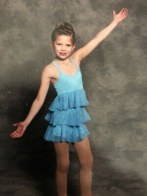Figure/Ice Skating Show/Competition Dress Size Child Small