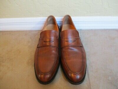 6e421da0ff8 Saks Fifth Avenue Made in Italy Penny Loafers For Men Size 11.5 M Eur 44.5