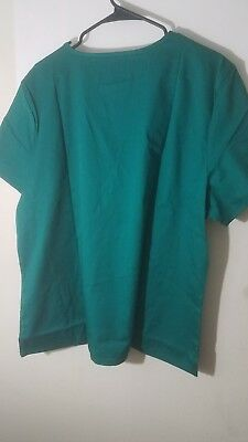 Cherokee Workwear Ladies Scrub Top Size 2xl New With Tags