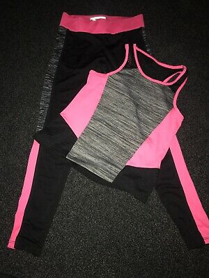 Girls Age 8-9 Gym Work Out Clothing