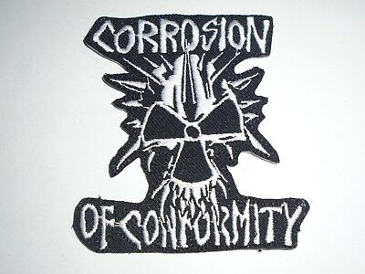 Corrosion Of Conformity Iron On Embroidered Patch