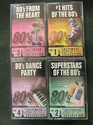 16 Volume Ultimate Rock & Roll Collection Cassettes 50's 60's 70's 80's