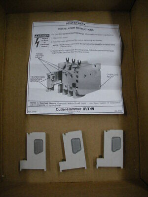 H2009B overload relay elements heaters set of 3pcs Eaton Cutler Hammer 2 avail