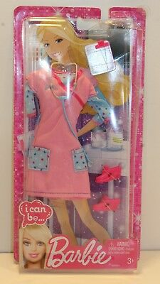 "I Can Be Barbie Doll Fashions ""I Can Be.."" Careers Nurse Outfit Original package"