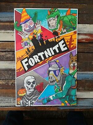 Fortnite Home Decor Room Wall Art Gamer Picture 11 x 17 inch Print