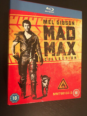 Mad Max 1-3 Blu Ray Collection