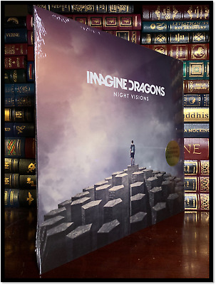 Imagine Dragons Night Visions Brand New Sealed Limited Lavender LP Vinyl 1/2000