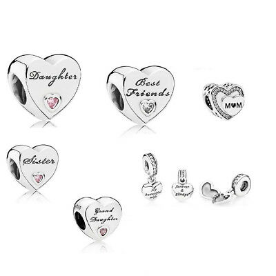 Pandora Moments Wife Daughter Sister Mum Best Friend Granddaughter Charm Bead UK