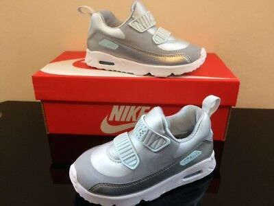 NIKE TODDLES AIR Max Tiny 90 Td Trainers Size 7.5 Euro 25 New Boxed ... 9e3e0a3f240f