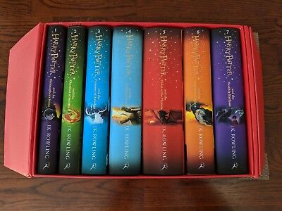 Harry Potter Box Set: The Complete Hardback Collection by J. K. Rowling