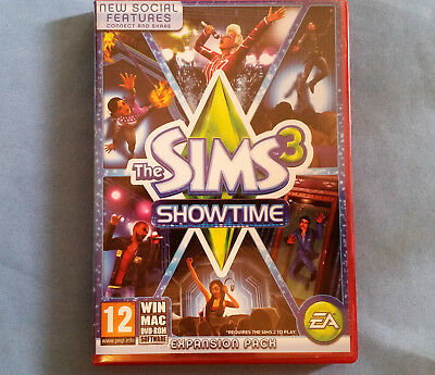 The Sims 3 Showtime  Expansion PC or Mac- in Very Good condition