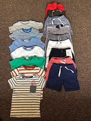 18-24 Months Baby Boys Clothes Bundle Tops Shorts Summer