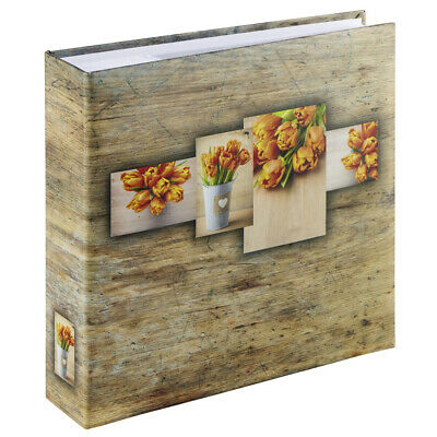 Hama 2167 Rustico photo album Orange Memo Album - for 200 photos with a size of