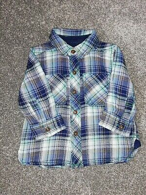 Baby Boy Checked Shirt By Next 3-6 Months