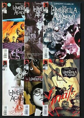 Umbrella Academy Apocalypse Suite #1-6 Issue #1 Is 2nd Print Great Condition