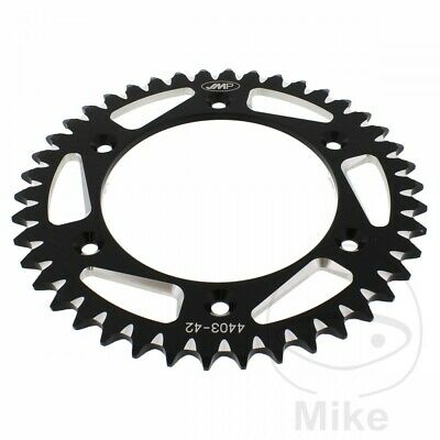 For KTM SMR 450 Supermoto 2006 JMP Black Aluminium Rear Sprocket (42 Teeth)