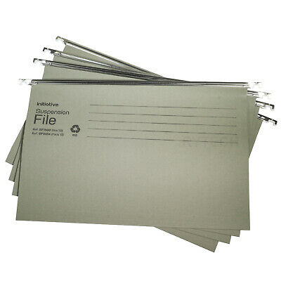 Green Hanging Suspension Files Tabs Insert Filing Cabinet Foolscap Or A4 Folders