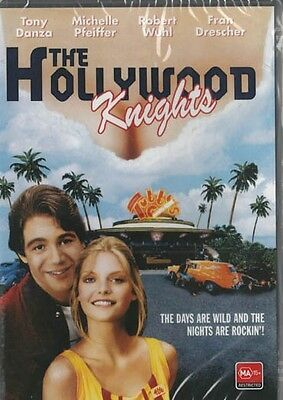 The Hollywood Knights - Michelle Pfeiffer & Tony Danza New & Sealed Dvd