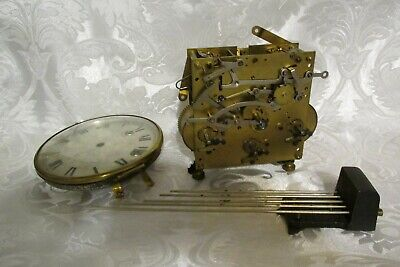 A 1930's 8 Day 3 Train Westminster Movement By Hac Working Order And Complete
